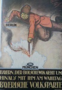 Der Bolschewik aus Sicht bayr. Volkspartei