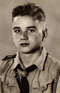 Demmelmair als junger Bursch 1944